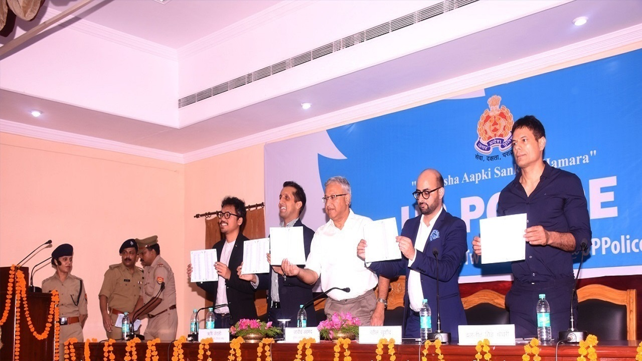 Launch of all twitter handles of UP Police