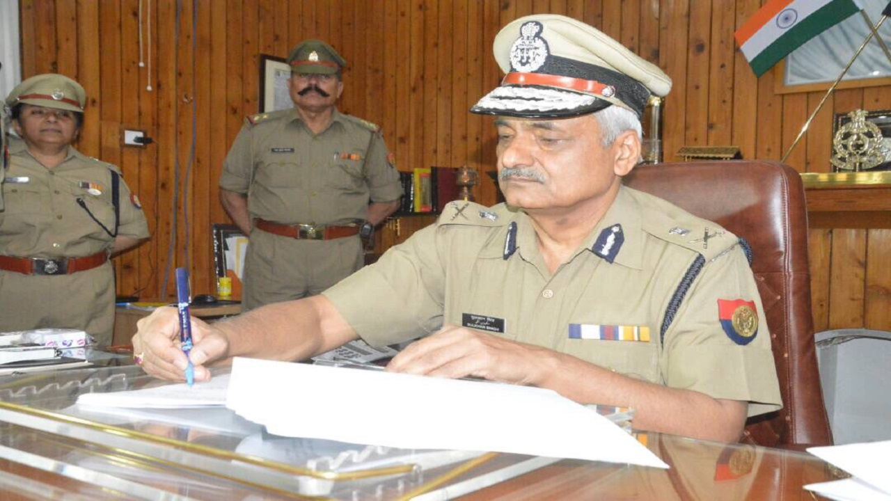 Charge Taken by Shri Sulkhan Singh IPS as DGP UP Police