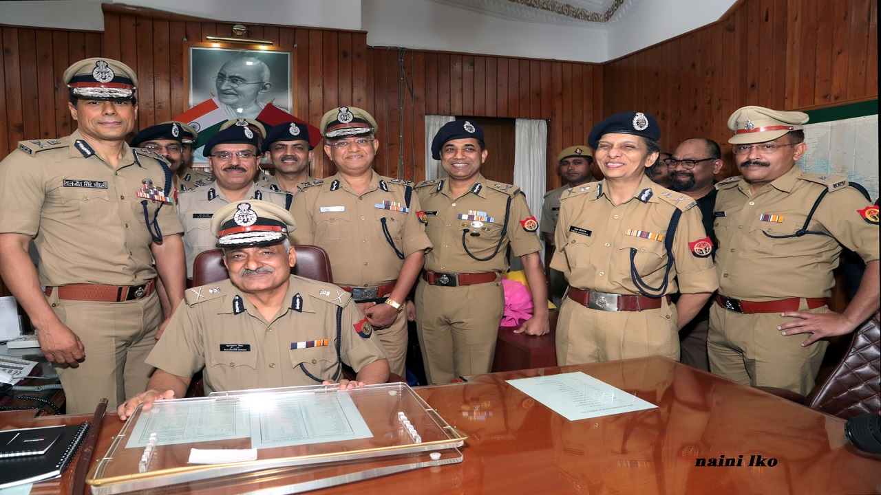 Shri Sulkhan Singh, IPS, takes charge as DGP UP Police