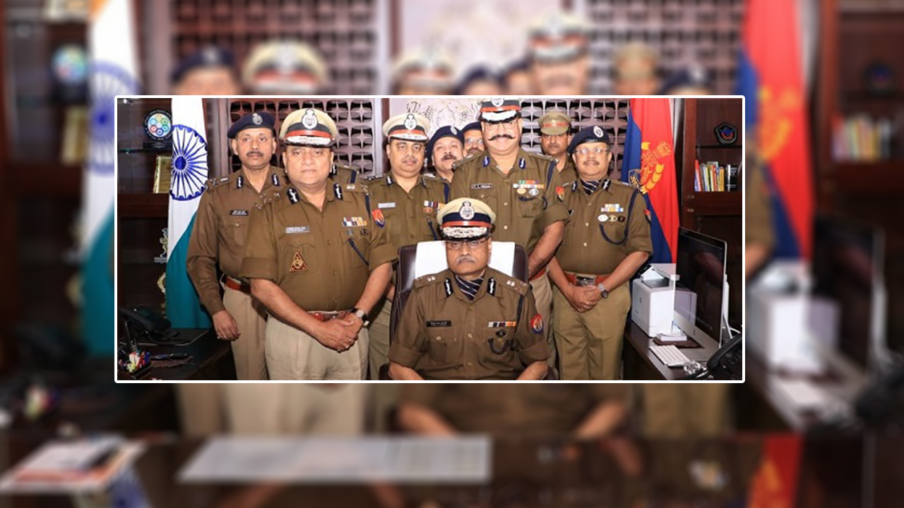 Sh H. C. Awasthy is the DGP (Head of The Department) of Uttar Pradesh Police